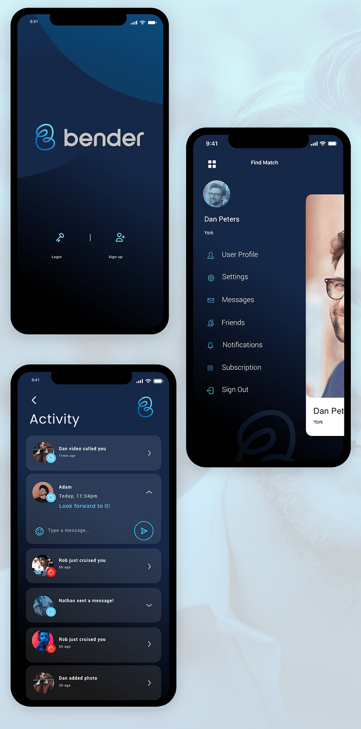 Mobile App Layout 2 – 1